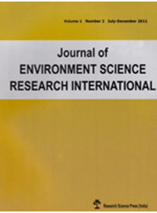 Journal Of Environmental Science Research International
